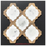 Waterjet Tile - Design 30 Marble - Wood Porcelain D