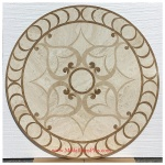 "Marguerite II, 43.75"""" Stone Floor Medallion"