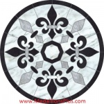 "Regal, 72"" Waterjet Medallion"