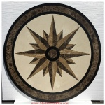 "STAR LIGHT, 36"" Waterjet Medallion"