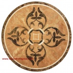 "SunStone Judy, 36"" Waterjet Medallion"