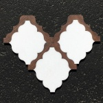 Waterjet Tile - Design 30 Marble - Wood Porcelain E