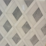 Waterjet Cut Tile - Design 6