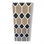Waterjet Cut Tile - Design 8
