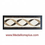 ML-91 waterjet tile border  4 x 12