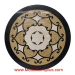 "Chateau, 36"" Stone Floor Medallion"