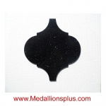 Ababesque - Black Galaxy Waterjet Tile
