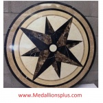 "Bellagio, 59"" Stone Floor Medallion"