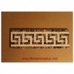 "Greek, Mosaic Tile Listello 4"" x 12"""