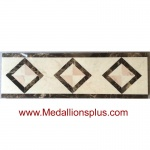 ML-03 waterjet tile border  4 x 12