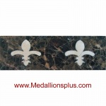 ML-57 waterjet tile border  4 x 12