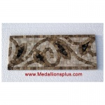 "Harper, Honed Mosaic Tile Listello 5"" x 12"""