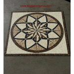 "Star Melody Polished, 48"" Square Mosaic Medallion"