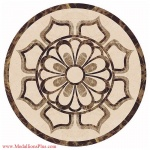 "Faith, 36"" Waterjet Medallion"