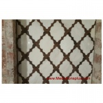 Waterjet Tile - Design 30 Marble - Wood Porcelain A