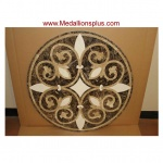Waterjet Medallion - Design 105