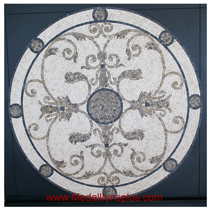 Tile Floor Medallions Beach Themed Collection Floor Medallion Marble