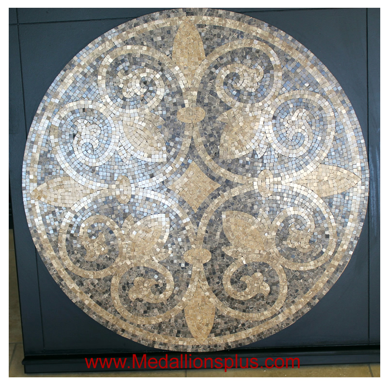 Tuscany 36 Quot Polished Mosaic Floor Medallion