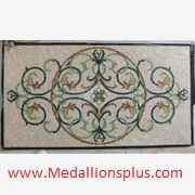 Made to order - Rectangular Mosaic Floor Medallions