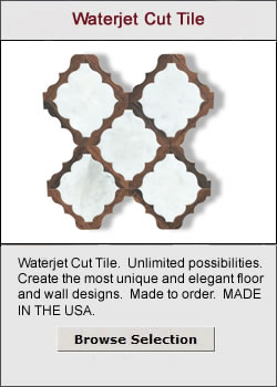 Waterjet Cut Tile